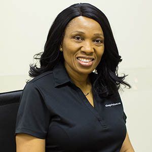 Gillian Okoye medical administrator